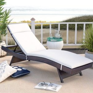 Devo Lounger Rattan Synthetic Mewah